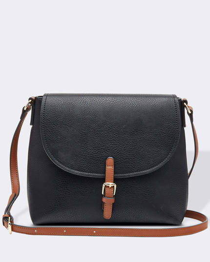 Lucia Crossbody Bag - Black