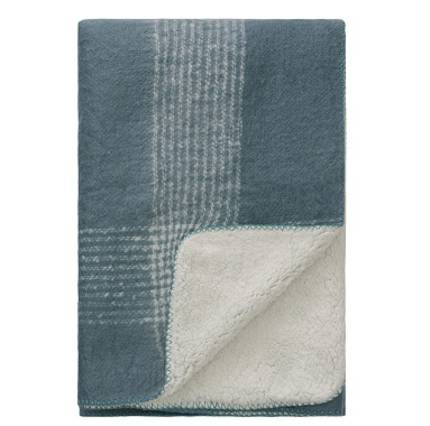 Sherpa Throw - Teal - OUT OF STOCK