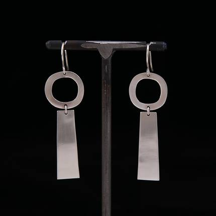 Rooby Silver Earrings - OUT OF STOCK