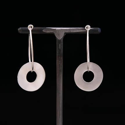 Section Earrings in Silver - OUT OF STOCK