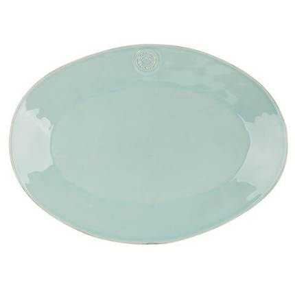 Oval Platter 40cm - turquoise