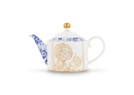 Pip Royal White - Small Teapot