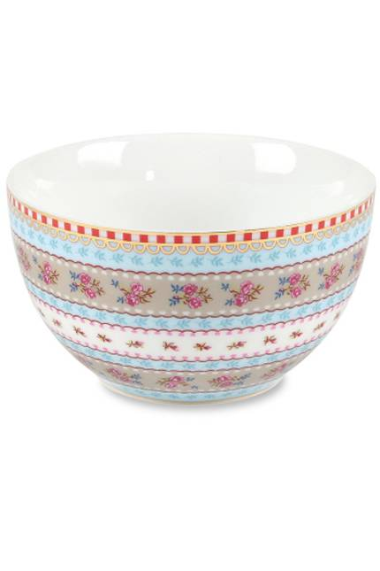 Pip Ribbon Rose Bowl 9.5cm