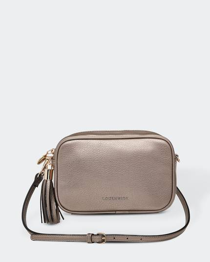 Gigi Cross Body Bag - Metallic Bronze