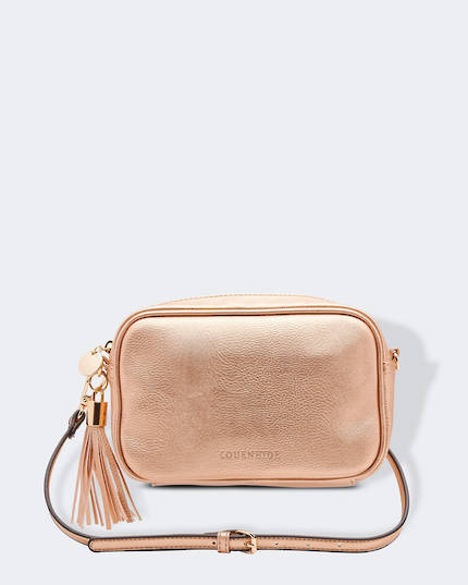 Gigi Cross Body Bag - Pink Champagne