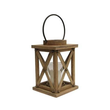 French Country - Small Lodge Natural Lantern - OUT OF STOCK