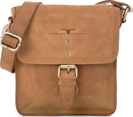 Little Joe Leather Body Bag - Cognac