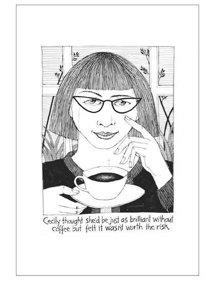 Cecily Tea Towel - Coffee Brilliance - OUT OF STOCK
