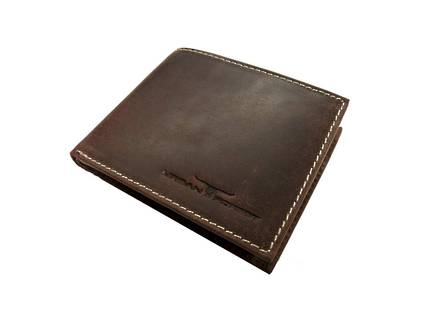 Logan Leather Wallet - Brown