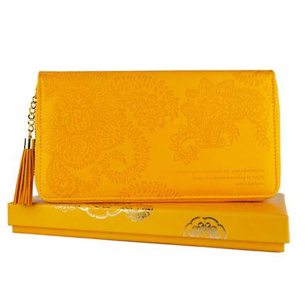 Travel Clutch - Marigold