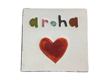 Monster ceramic - Aroha Tile -  OUT OF STOCK
