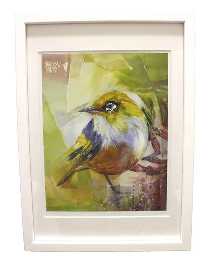 Sheila Brown Art - Wee Waxeye