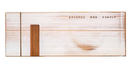 Rimu Wood Cheese Board - Large White