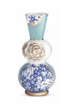 Pip Royal - Round Vase Blue