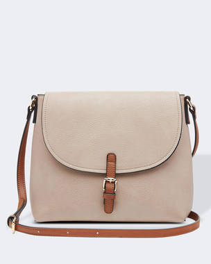 Lucia Crossbody Bag - Putty