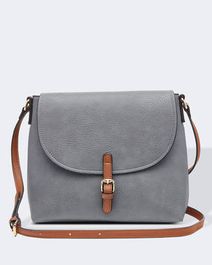 Lucia Crossbody Bag - Smoke OUT OF STOCK