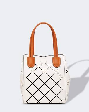 Baby Bermuda Handbag - White OUT OF STOCK