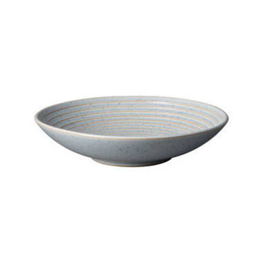 Studio Blue Ridged Bowl Medium - Pebble