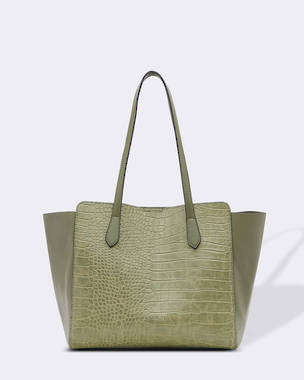 Franco Bag - Croc Khaki