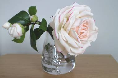 Perfumed Tea Rose - Pink Blush Clear