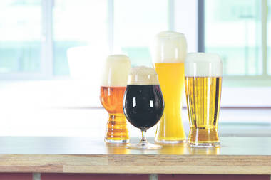 Craft Beer Tasting Glasses - Set of Four