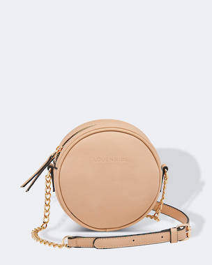 Bethany Cross Body Bag - Nude