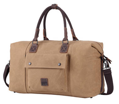 Classic Oslo Holdall (Weekender) Bag - Camel