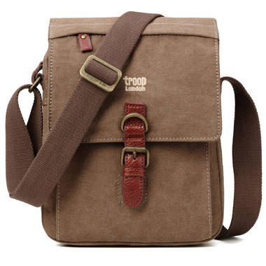 Classic Shoulder Bag - Brown