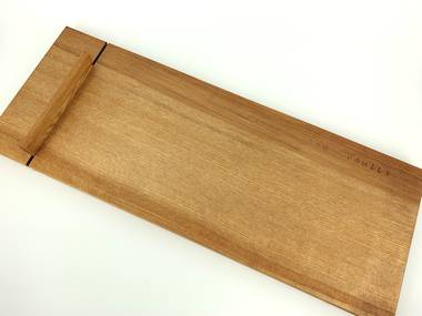 Large Rimu Cheese Board with Knife - Natural