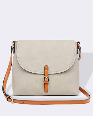 Lucia Cross Body Bag - Grey