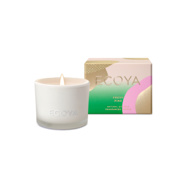 Limited Edition ECOYA Candle in Monty Jar - Fresh Pine