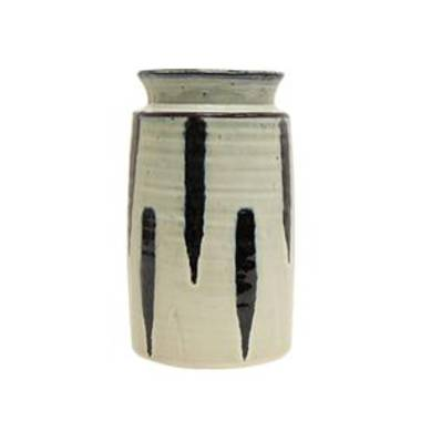 French Country - Lena Stripe Utensil Holder