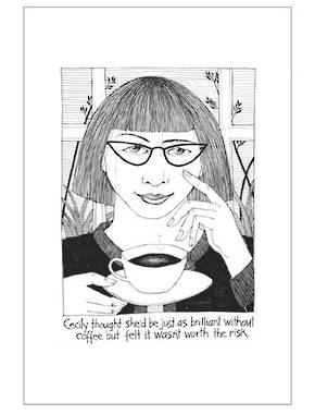 Cecily Tea Towel - Coffee Brilliance
