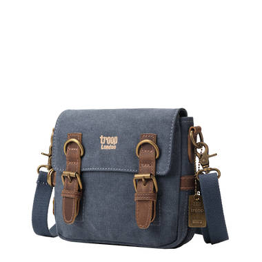 Classic Small Shoulder Bag - Blue