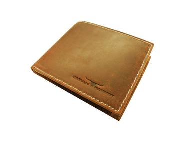 Logan Leather Wallet - Cognac
