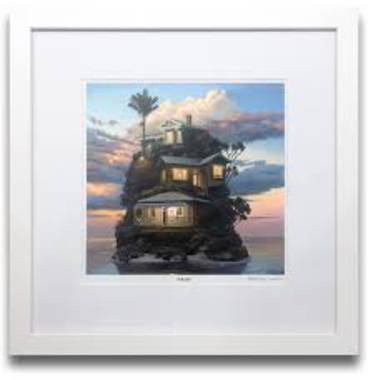 Barry Ross Smith Framed Print - Dusk Light