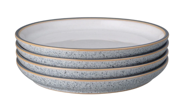 Studio Grey Medium White Plates - Set of 4
