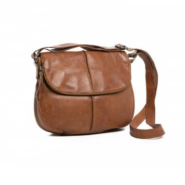 Rugged Hide Miranda Bag - Tan