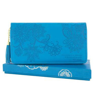 Travel Clutch - Peacock