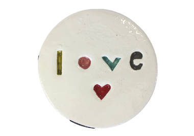 Monster ceramic - Love Disc
