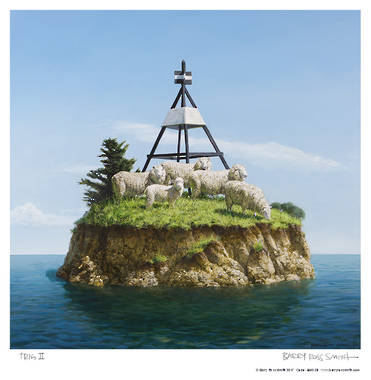 Barry Ross Smith Framed Print - Trig 2